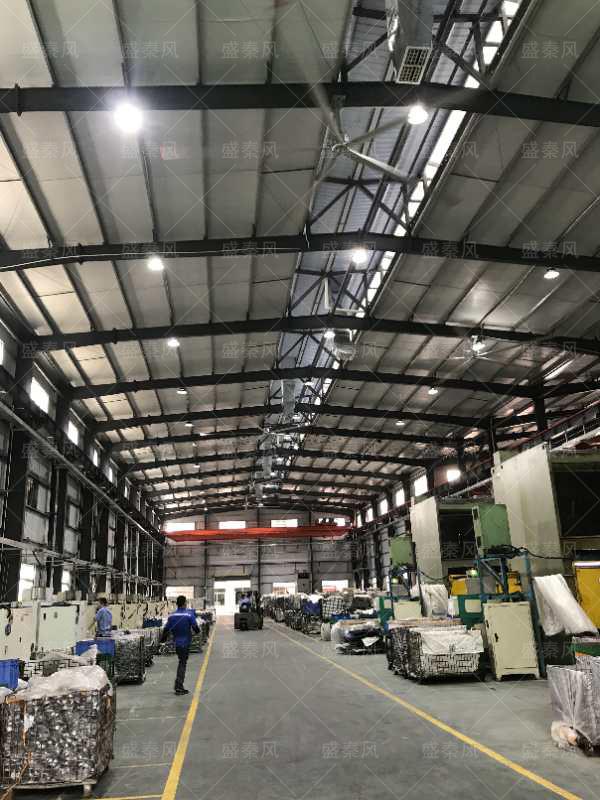 大型工业厂房扇机组合案例