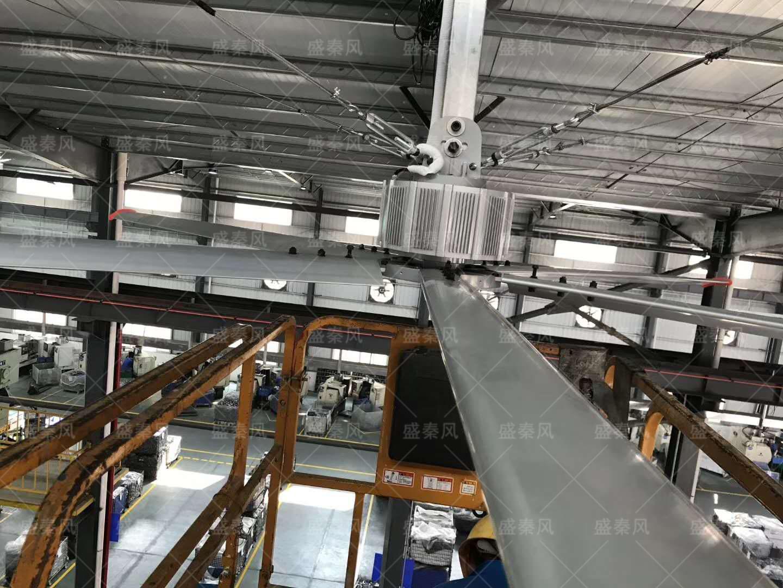 五金厂工业大风扇通风竞博jbo首页方案