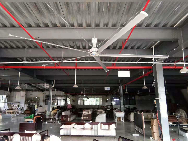湖北工业大风扇相比传统大风扇的优势在哪里?看完你就懂了