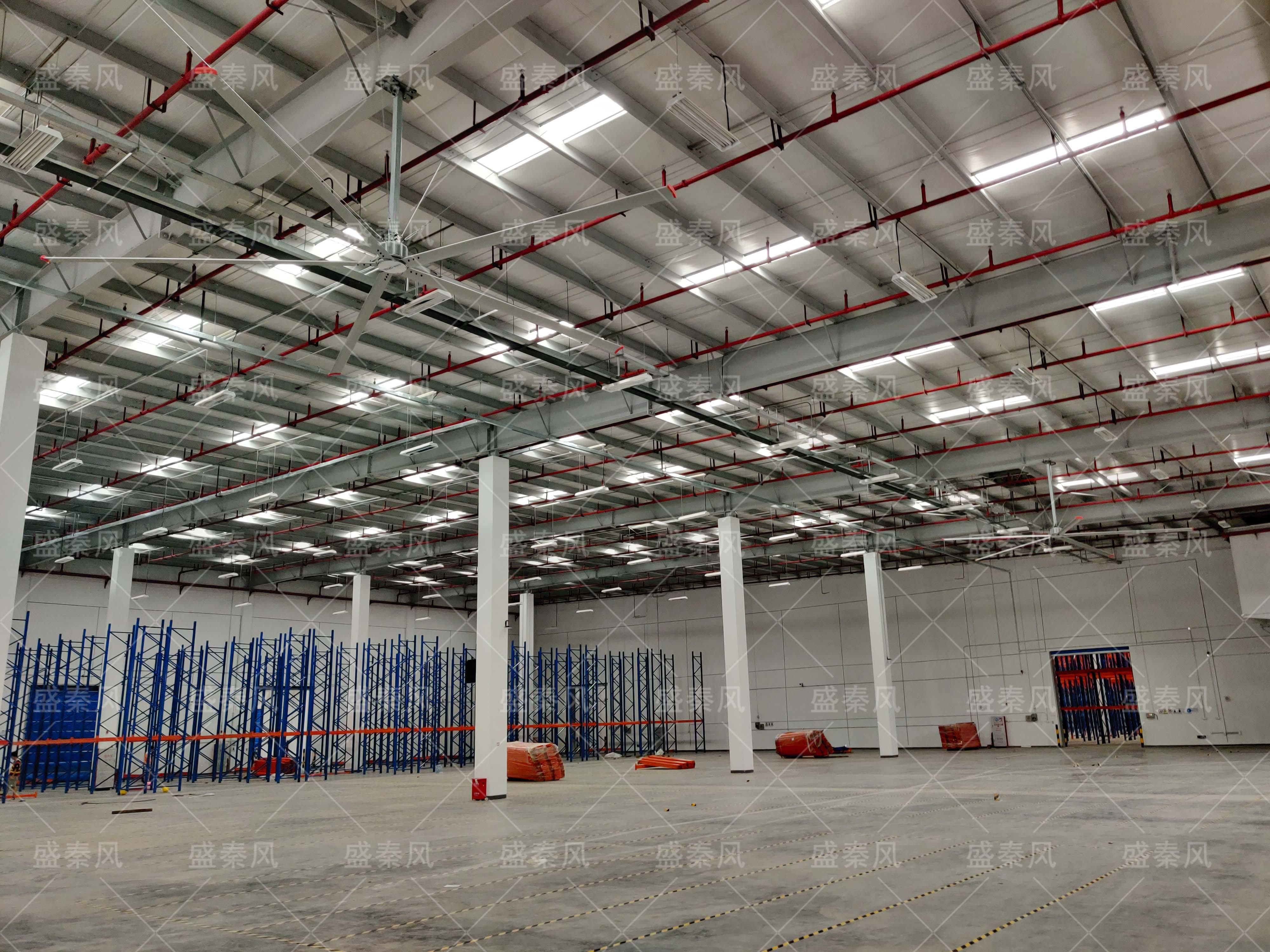 仓库安装工业大风扇风扇