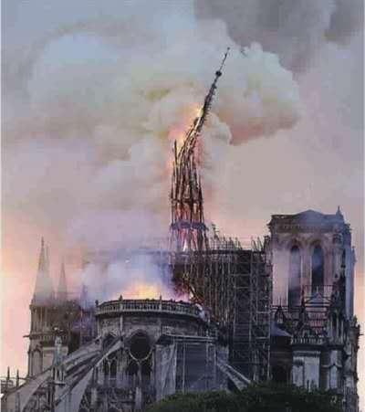 """由""""巴黎圣母院失火""""事件得到的反思与总结..."""