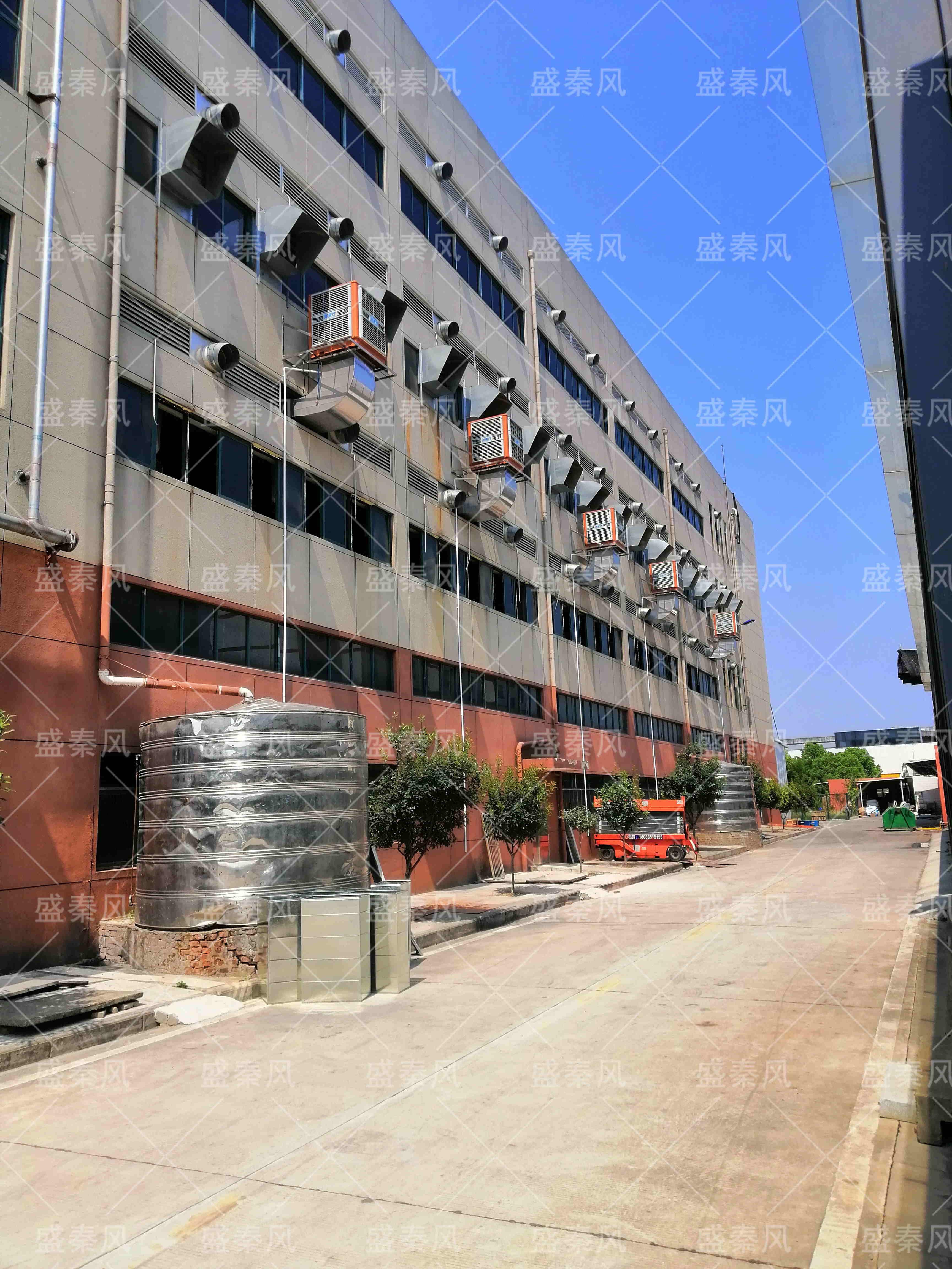 武汉某食品有限公司的通风竞博jbo首页工程案例