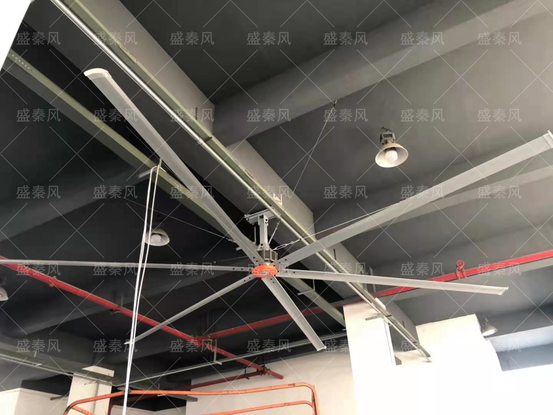 印刷厂通风竞博jbo首页方案--工业大风扇