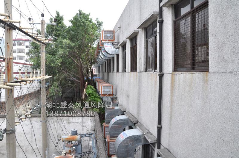 天门市某电线厂环保竞博jbo首页通风竞博jbo首页案例